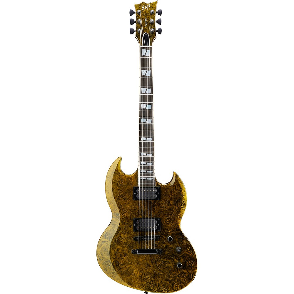 ESP USA Viper Electric Guitar Green Swirl 1500000214110