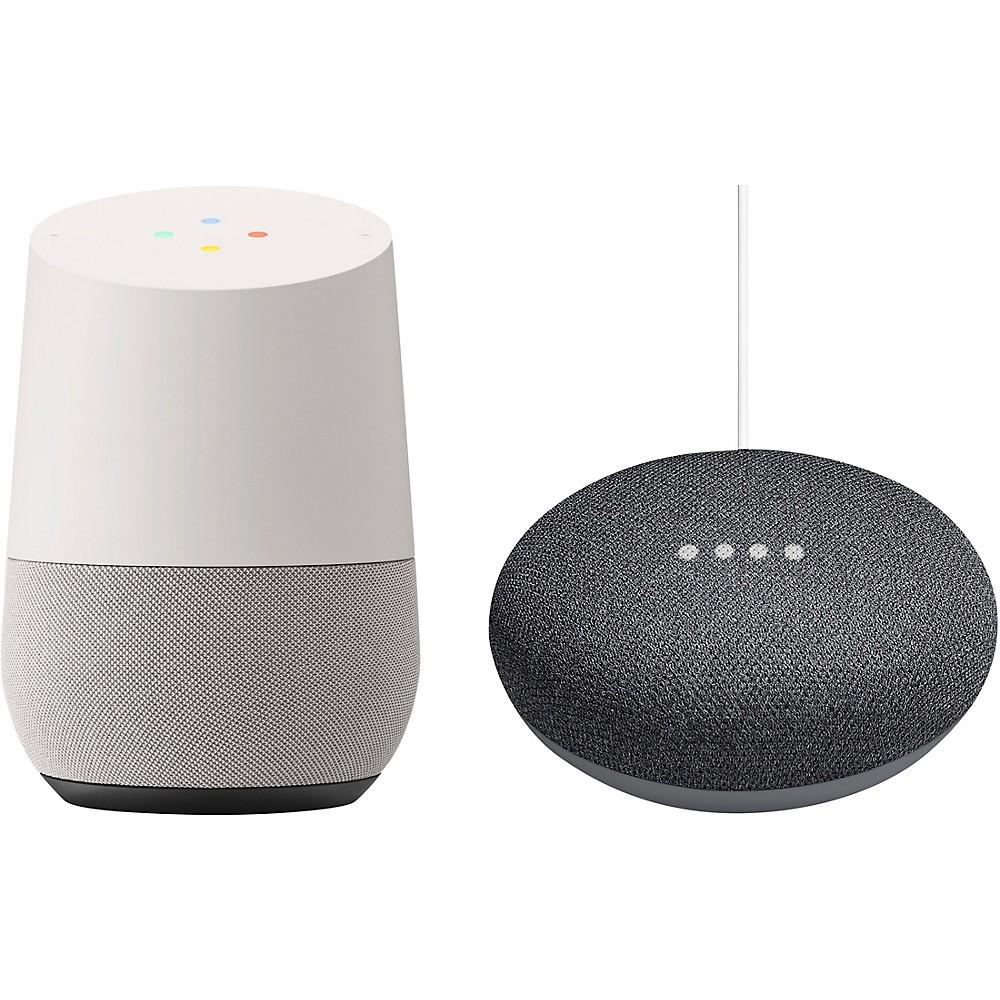 Google Home And Home Mini Bundle Charcoal -  HomeHomeMiniCharc