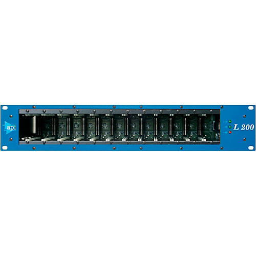 API L200R 12 Slot 200 Series Module Rack