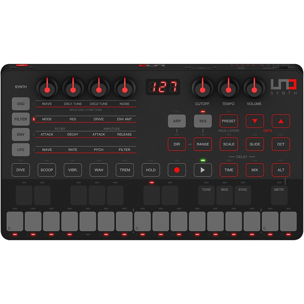 Ik Multimedia Uno Synth Portable Analog Synthesizer