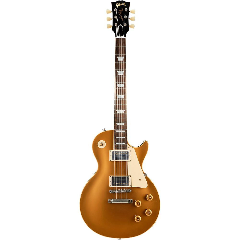 Gibson Custom Historic '57 Les Paul Goldtop Vos 2018 Electric Guitar Gold Top -  LPR57VOAGNH1