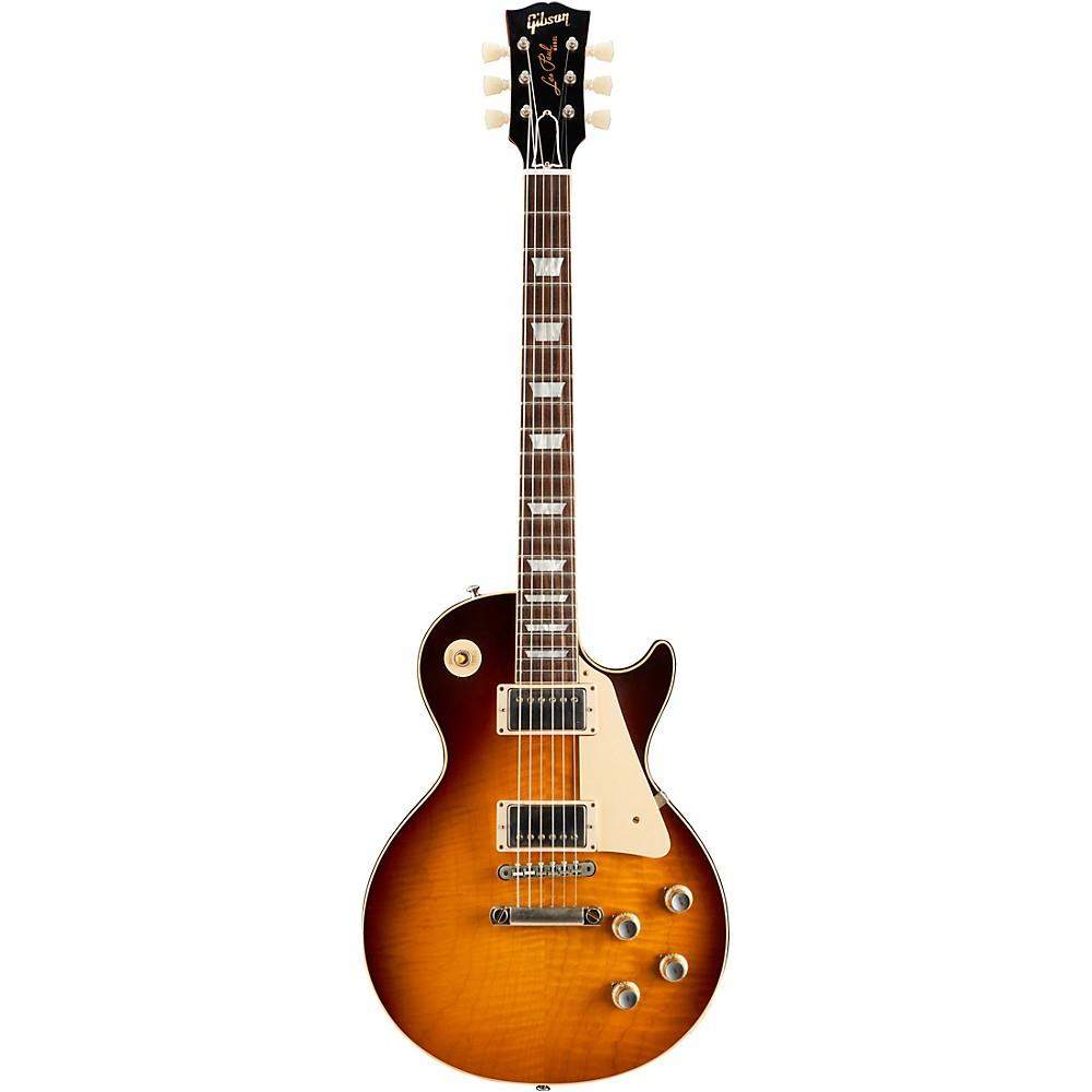 Gibson Custom Historic '60 Les Paul Standard Vos 2018 Electric Guitar Dark Bourbon -  LPR60VODBFNH1