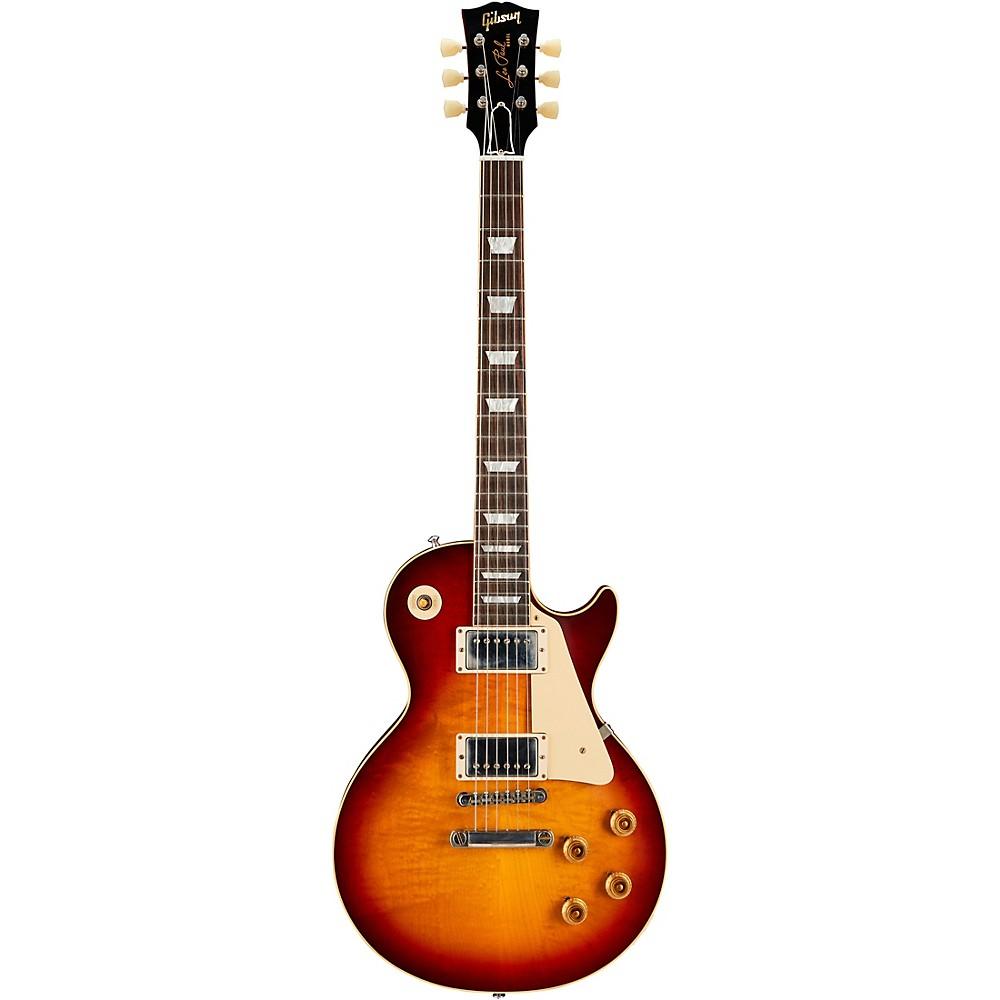 Gibson Custom Historic '58 Les Paul Standard Vos 2018 Electric Guitar Vintage Cherry Sunburst -  LPR58VOVCSNH1