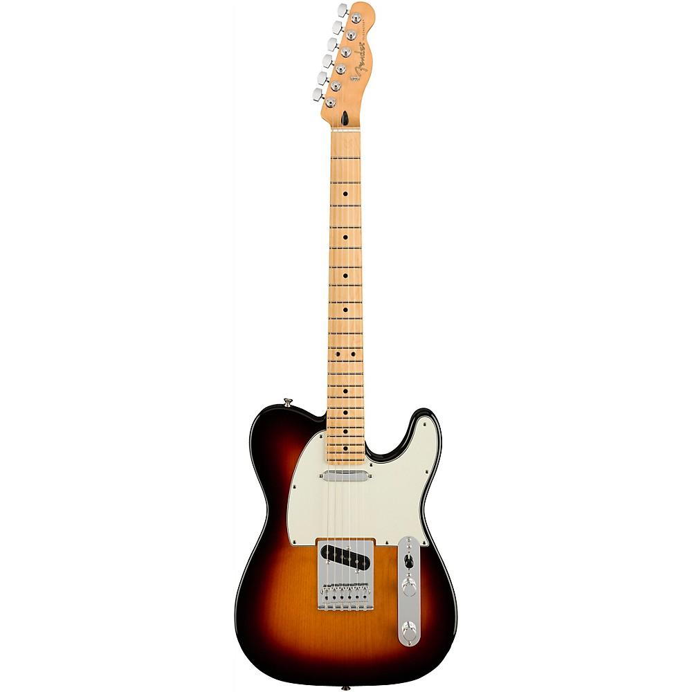 Fender Player Telecaster Maple Fingerboard Electric Guitar 3-Color Sunburst