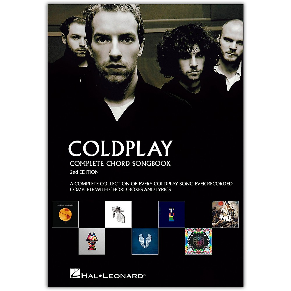 Music Sales Coldplay Complete Chord Songbook Guitar Chord Songbook Series (2Nd Edition)