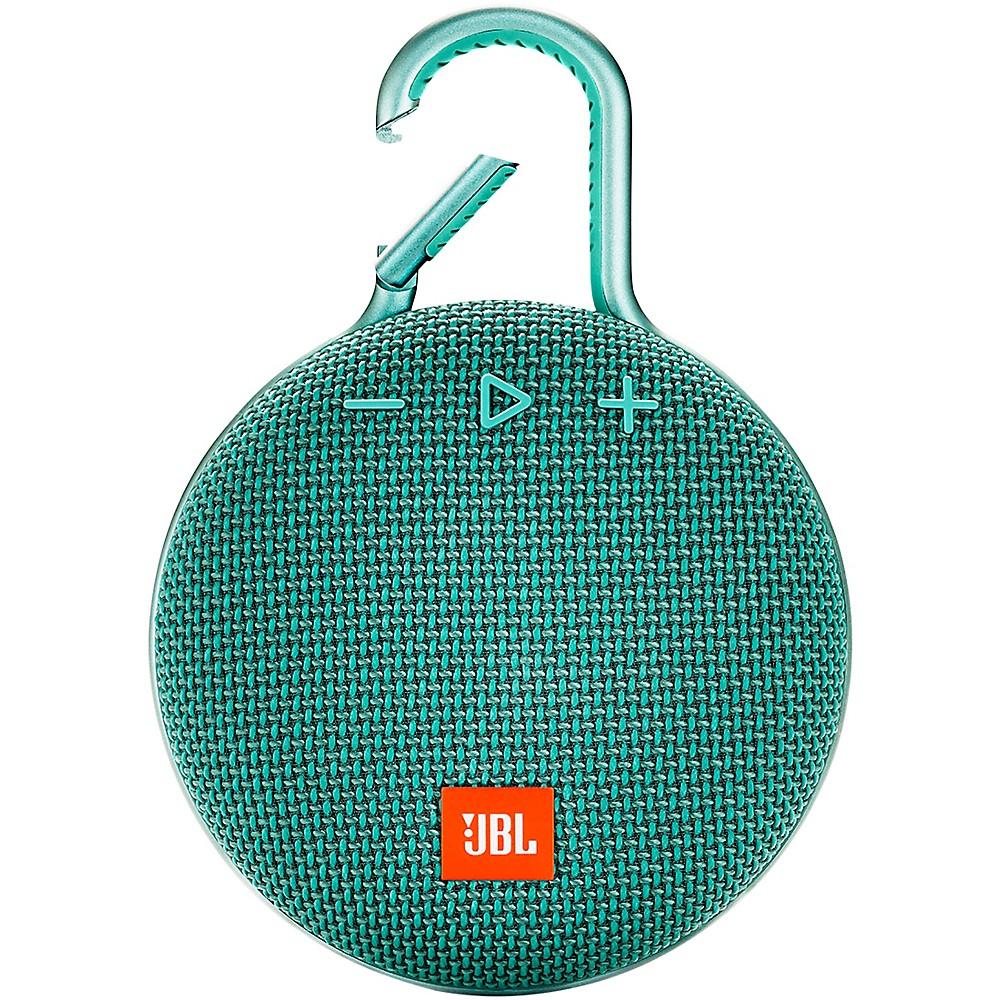 Jbl Clip 3 Waterproof Portable Bluetooth Speaker Teal
