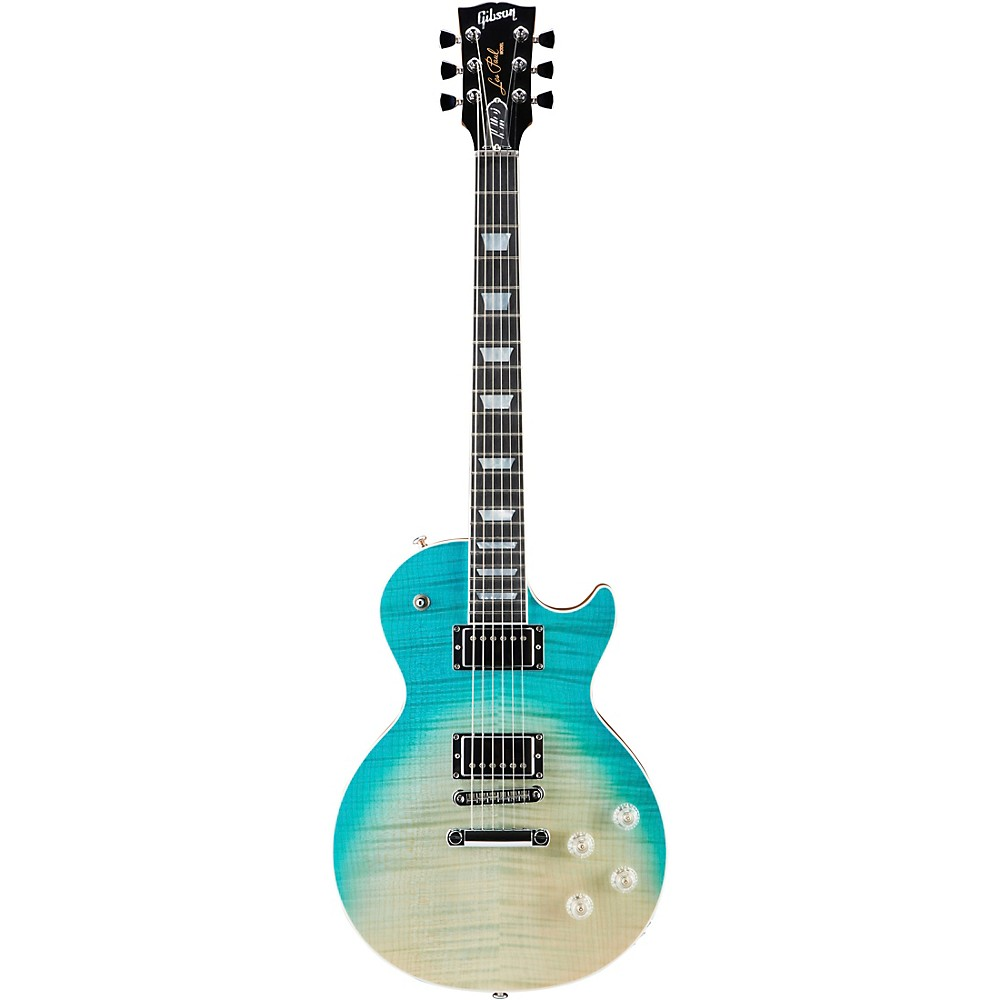 Gibson Les Paul High Performance 2019 Electric Guitar Faded Sea Foam Green -  H2LPS19G8CH1