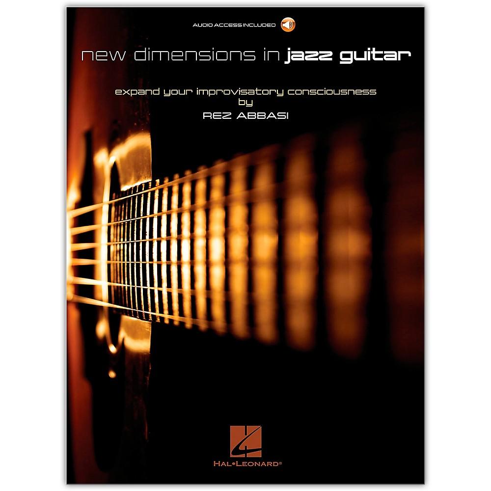 Hal Leonard New Dimensions In Jazz Guitar Guitar Book|Audio Online Written By Rez Abbasi