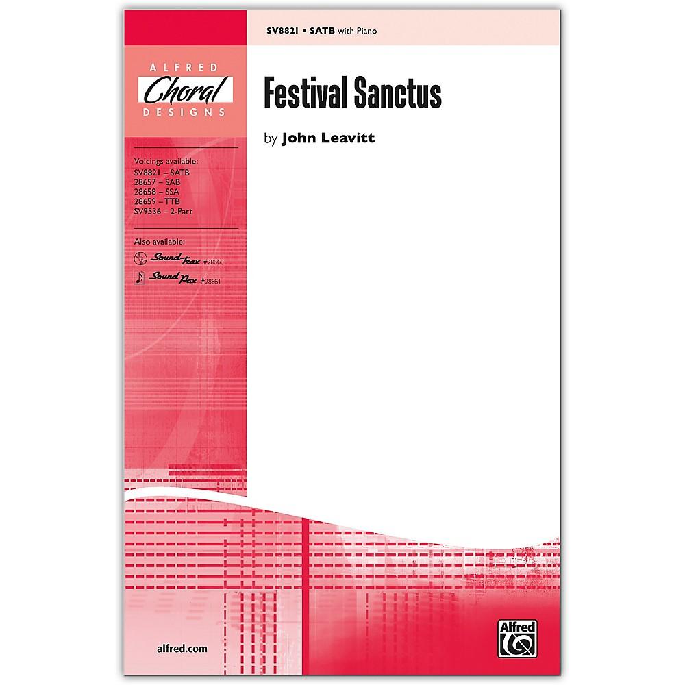 Alfred Festival Sanctus Satb