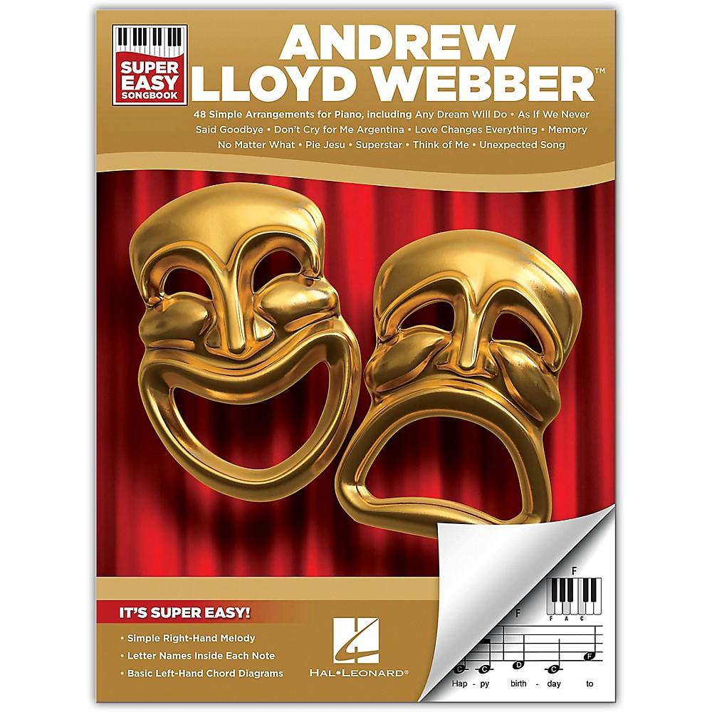Hal Leonard Andrew Lloyd Webber Super Easy Songbook
