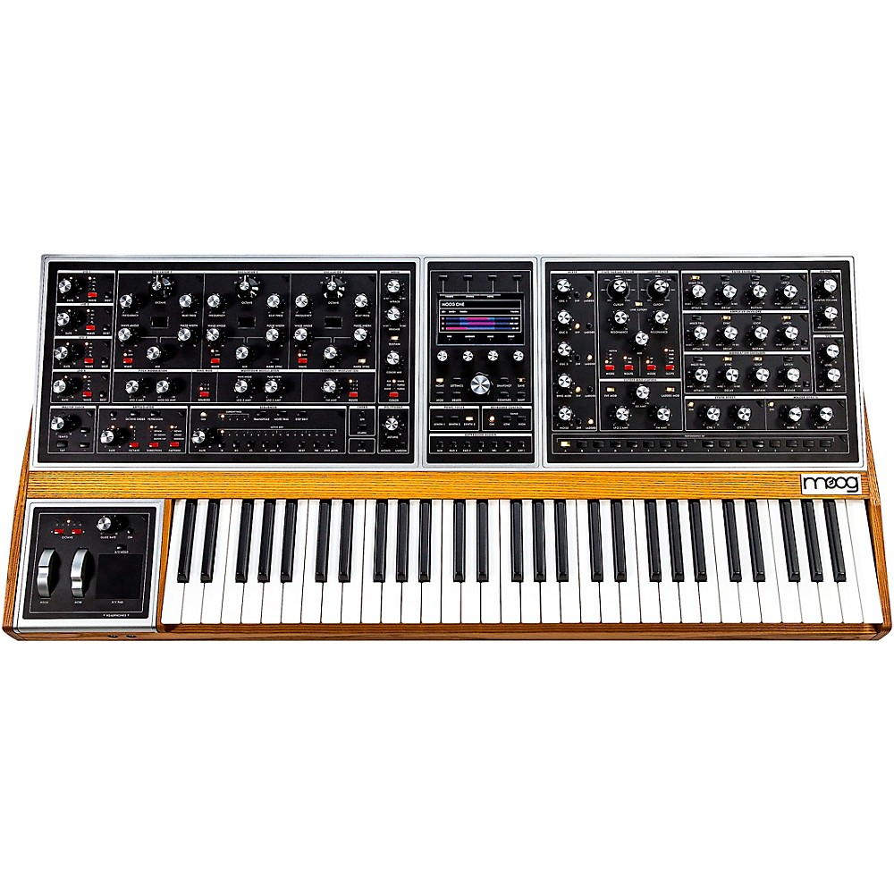 Moog One Polyphonic Analog Synthesizer  16 Voice
