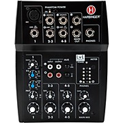 L502 5-Channel Mixer with XLR Mic Preamp