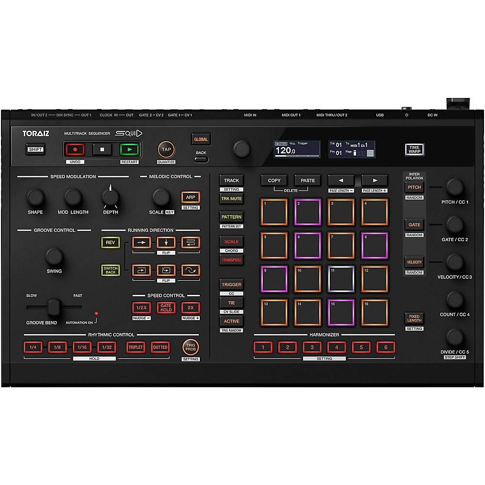 Pioneer Squid Creative Multitrack Sequencer Black