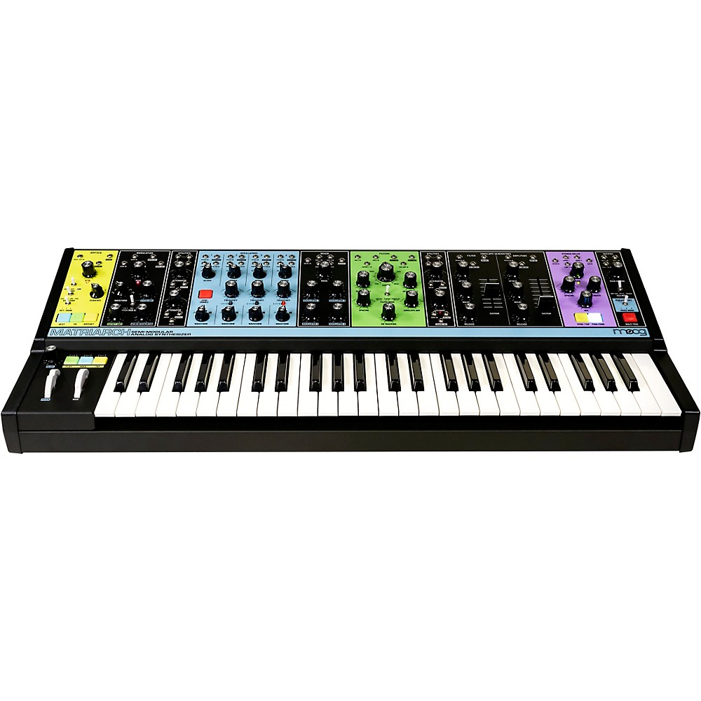 Moog Matriarch Semi-Modular Analog Synthesizer Black