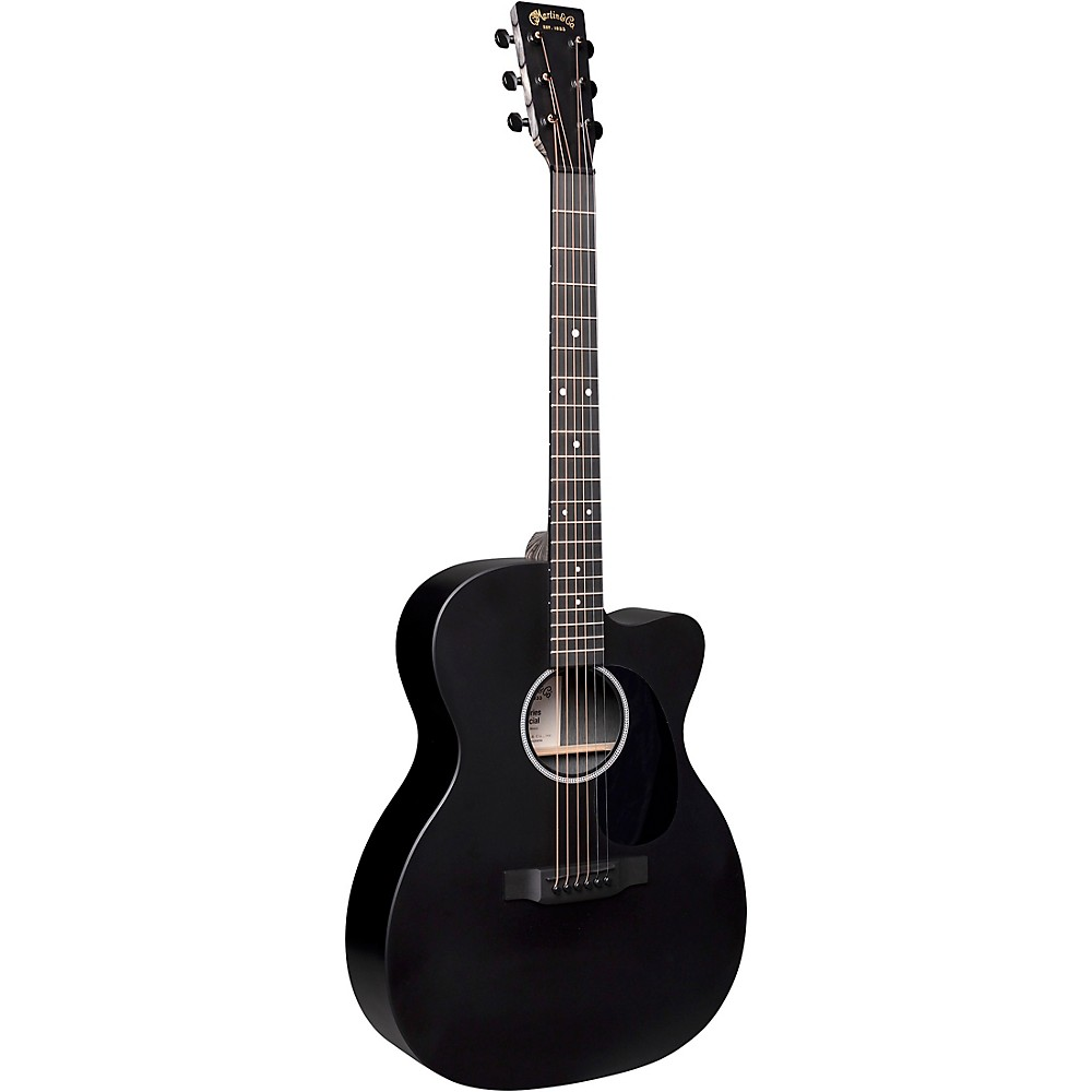 Martin Special X Series Style 000 Cutaway Sized Acoustic-Electric Guitar Black
