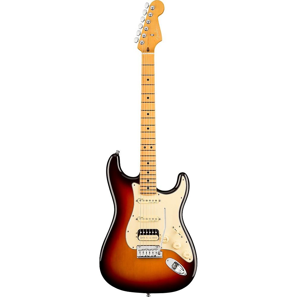 Fender American Ultra Stratocaster Hss Maple Fingerboard Electric Guitar Ultraburst