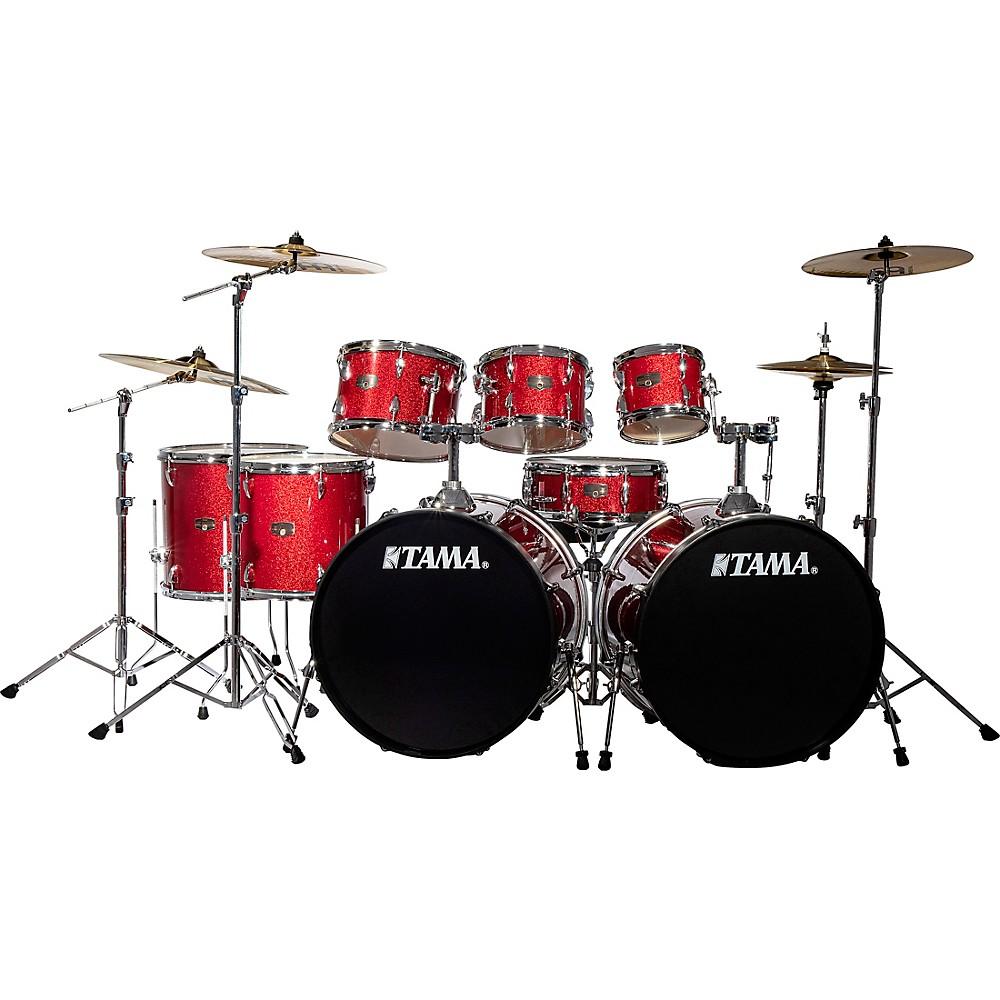 4. TAMA Imperialstar 8 Piece Double Bass Drum Set