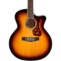 Guild Deluxe 12-String Cutaway Jumbo Acoustic-Electric Guitar