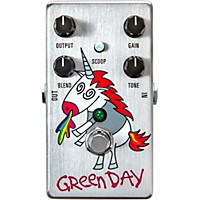 Mxr Dd25 Green Day Dookie Drive V3 Overdrive Effects Pedal Silver