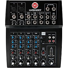 Harbinger L802 8-Channel Mixer with 2 XLR Mic Preamps