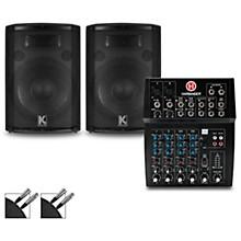 L802 Mixer and Kustom HiPAC Speakers 12