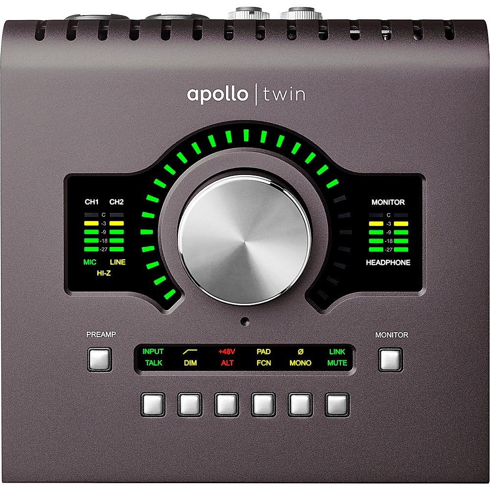 4. Universal Audio Apollo Twin MKII Duo Heritage