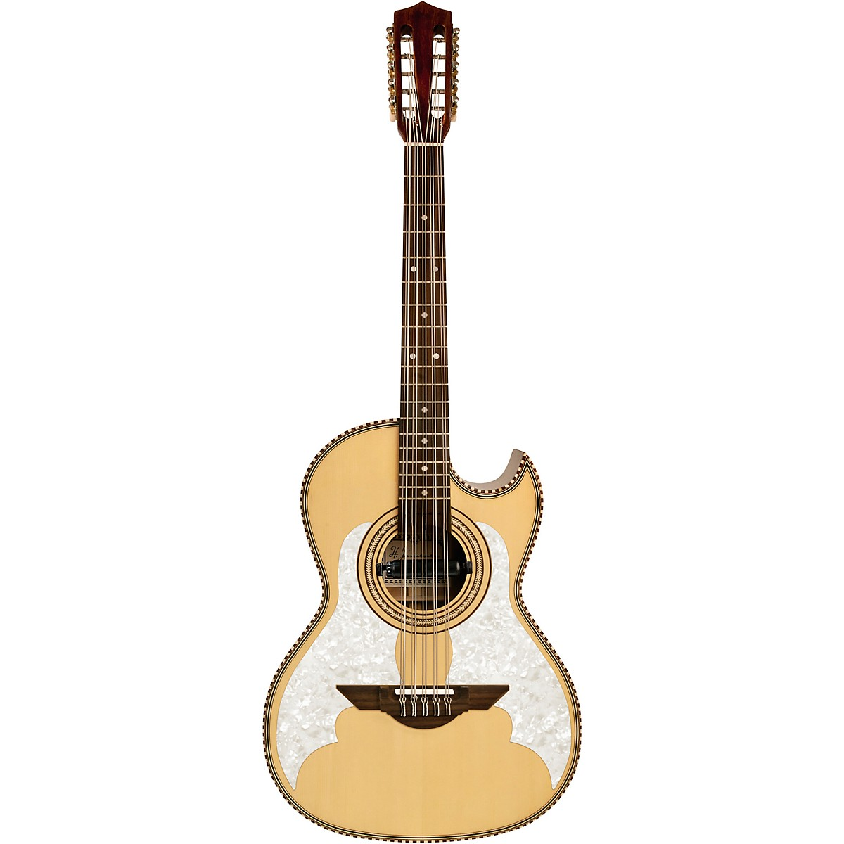H. Jimenez LBQ3TLE H Jimenez Bajo Quinto Acoustic-Electric El Murcielago Series