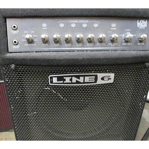used line 6 ld150 bass combo amp guitar center. Black Bedroom Furniture Sets. Home Design Ideas