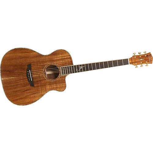 Parkwood LE081CE Grand Auditorium Acoustic-Electric Guitar