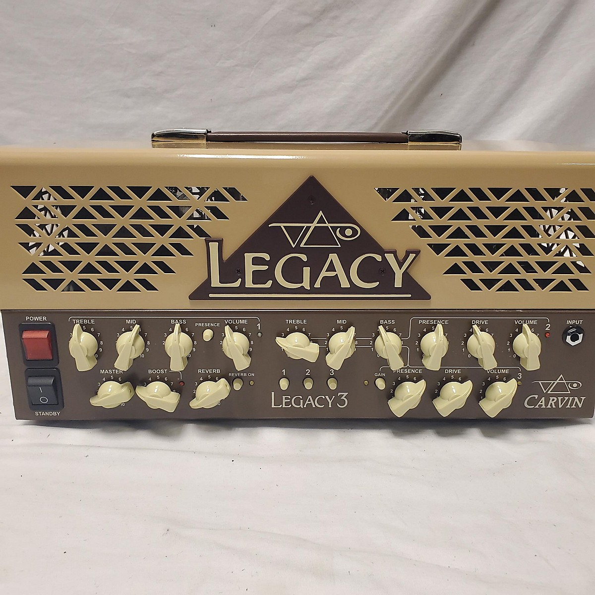 Carvin LEGACY 3 Tube Guitar Amp Head