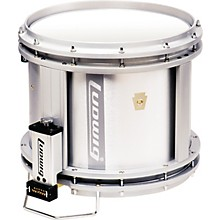 """Ludwig LFF024D USA 14"""" x 12"""" Marching Snare Drums Level 1 White / Drum Only"""