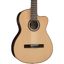 LFN200Sce Spruce/Rosewood Thinline Acoustic-Electric Classical Guitar Level 2 Natural 190839861498
