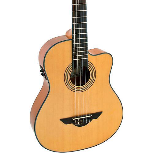 H. Jimenez LG El Maestro Nylon-String Non-Cutaway Acoustic-Electric Guitar