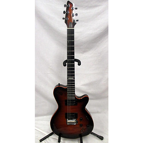 Godin LGXT AAA Flame Mapled Top Solid Body Electric Guitar