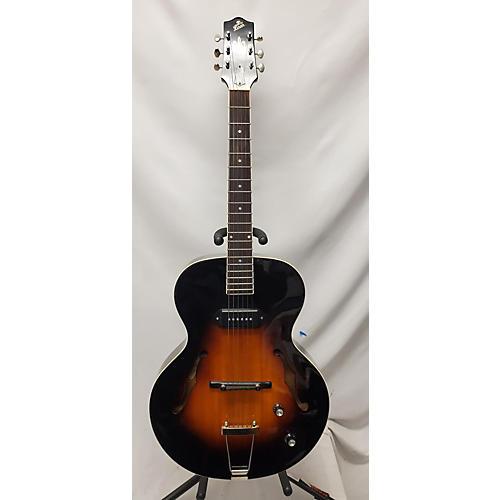 used the loar lh309vs hollow body electric guitar vintage sunburst guitar center. Black Bedroom Furniture Sets. Home Design Ideas