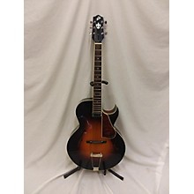 The Loar LH350VS Hollow Body Electric Guitar