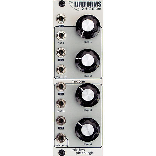 pittsburgh modular synthesizers lifeforms 2 2 mixer guitar center. Black Bedroom Furniture Sets. Home Design Ideas