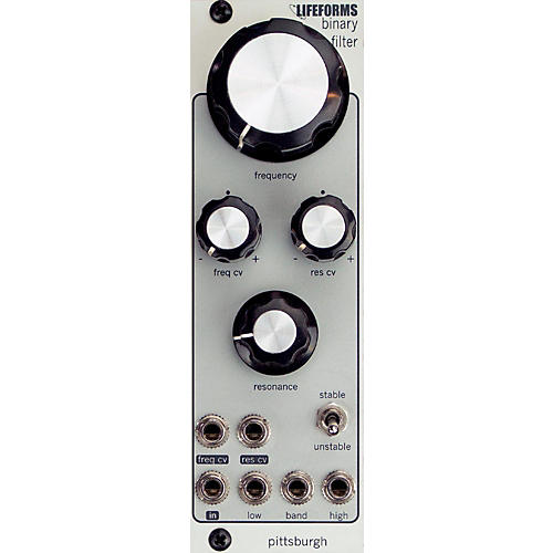 Pittsburgh Modular Synthesizers LIFEFORMS BINARY FILTER