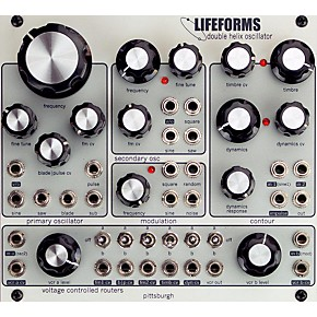 pittsburgh modular synthesizers lifeforms double helix oscillator guitar center. Black Bedroom Furniture Sets. Home Design Ideas