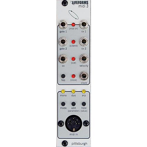 Pittsburgh Modular Synthesizers LIFEFORMS MIDI3