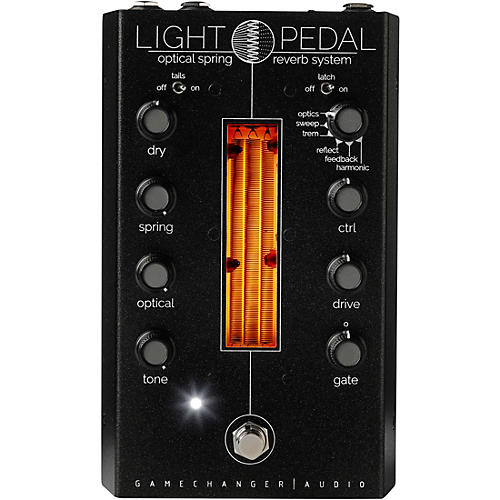Gamechanger Audio LIGHT Analog Optical Spring Reverb Effects Pedal