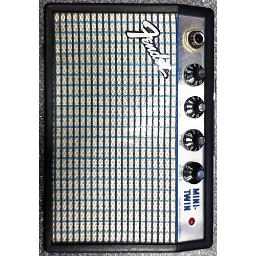 Fender LIMITED EDITION SILVERFACE MINI-TWIN Black Battery Powered Amp
