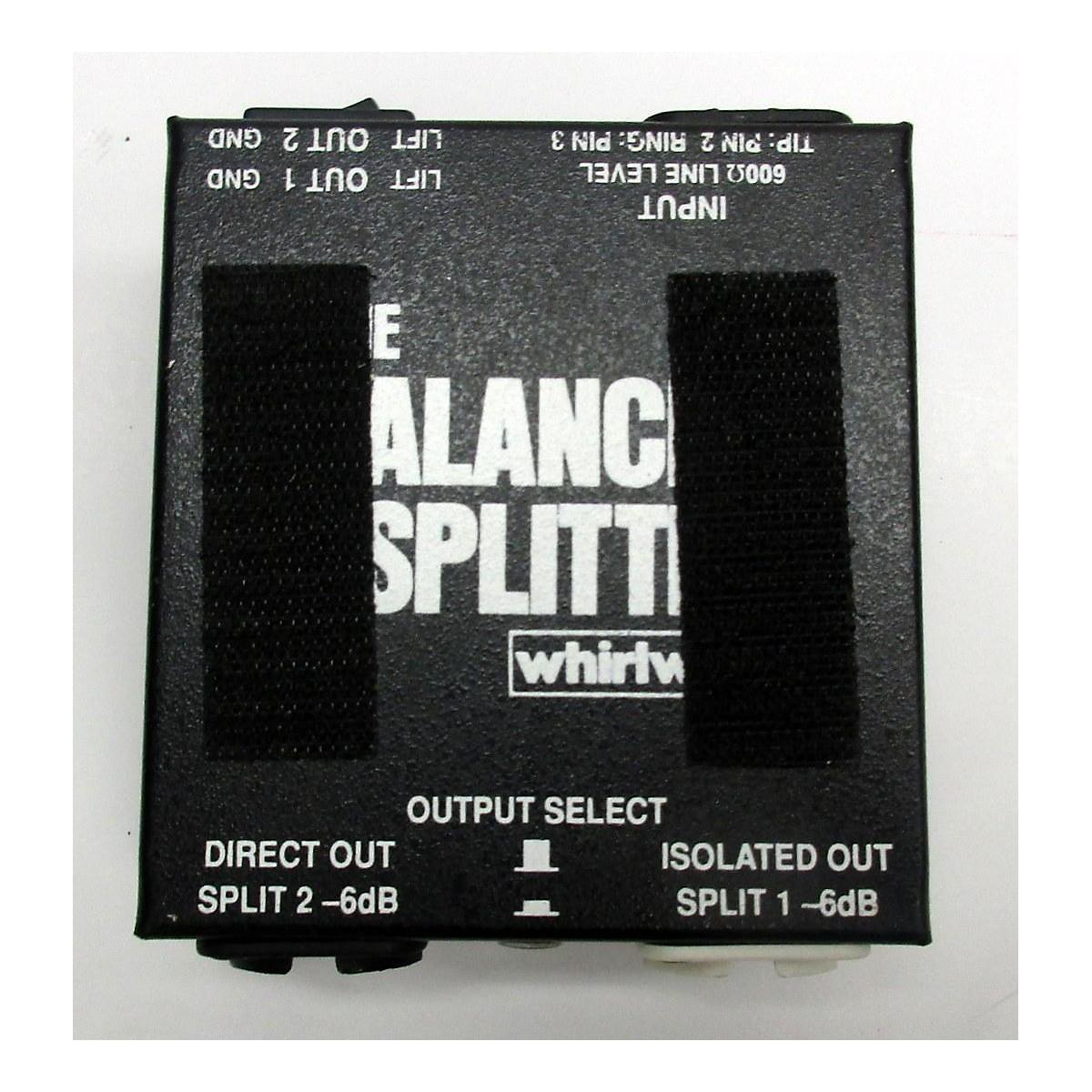 Whirlwind LINE BALANCED SPLITTER Signal Processor