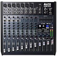 Alto LIVE 1202 12-Channel 2-Bus Mixer Level 1