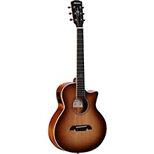 LJ2CE Artist Little Jumbo Acoustic-Electric Guitar Natural Shadow Burst