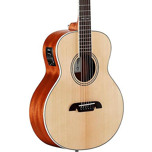 alvarez lj2e travel acoustic electric guitar natural guitar center. Black Bedroom Furniture Sets. Home Design Ideas
