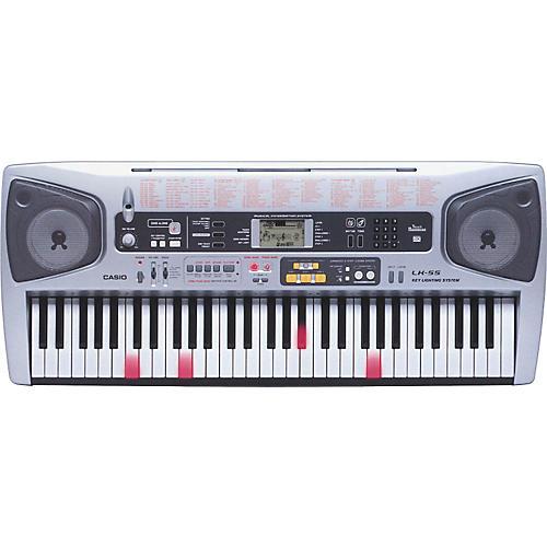 Casio LK-55 61-Key Lighted Key Portable Keyboard