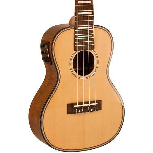 lanikai lks ceu solid spruce top acoustic electric concert ukesb ukulele guitar center. Black Bedroom Furniture Sets. Home Design Ideas