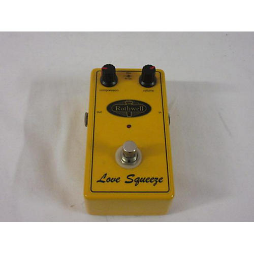 Rothwell LOVE SQUEEZE Effect Pedal