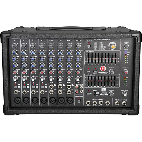 Harbinger LP7800 12-Channel Powered Mixer
